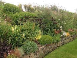 Small Picture Garden Border Ideas Tiered Flower Bed Designs Flower Garden