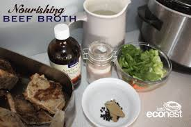 nourishing beef broth recipe