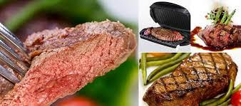 george foreman grill steak recipes