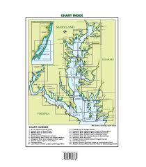Chesapeake Bay Chart Book Maryland Cruising Guide 2018 2019 Chartbook