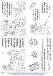 Small Picture English teaching worksheets The Gingerbread Man