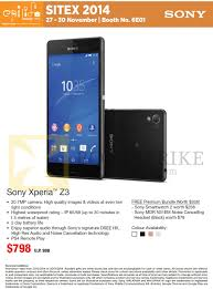 sony xperia z3 price. sitex 2014 price list image brochure of epicentre sony xperia z3. « z3