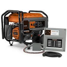 generac home generators. Generac HomeLink 6500-Running-Watt Portable Generator With Engine Home Generators