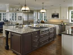 island stove top. Decoration: Kitchen Island With Intergrated Stove Top Design Ideas Regard To O