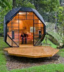 outside home office. office pod by manuel villa outside home e