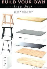 decoration desk table tops build your own modern sleek for as low her is decoration