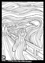 the scream coloring sheet.  Scream Youu0027re Viewing The Scream Colouring Sheet 050 For Coloring Sheet D