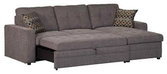 Storage Sectional Sofa With Pull Out Bed Contemporary