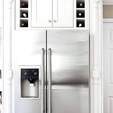 wine rack cabinet above fridge. Above Refrigerator Storage Wine Rack Cabinet Fridge