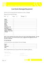 Incident Report Form Template Allthingsproperty Info