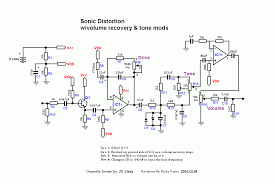 perf and pcb effects layouts ibanez maxon sd9 sonic distortion schematic