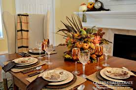 Fall Table Scapes Should You Invite Birds To The Table Celebrate Decorate