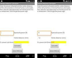 Vertex Distance Chart Vertex Distance Calculator On Windows Pc Download Free 1 0