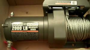 badland winch 2000lbs harbor freight cheap youtube Champion 8000 Lb Winch Wiring Diagram badland winch 2000lbs harbor freight cheap Champion 3000 Lb Winch