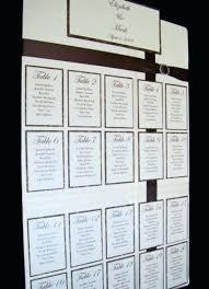 diy wedding seating plan ideas chart
