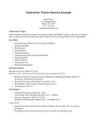 Underwriter Cover Letter 18 Resume Cv Office Nurse Letters For