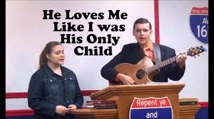 """Gabriel & Priscilla Parks""""He Loves Me Like I Was His Only Child"""" Chords -  Chordify"""