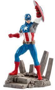 <b>Schleich</b> Фигурка <b>Капитан Америка</b> — купить в интернет ...