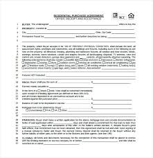 Purchase Agreement Contract Beauteous Home Sale Contract Template Free House Images Of Download