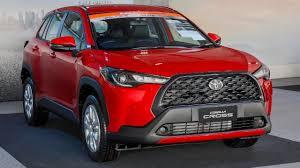 Toyota Corolla Cross Thailand - 2021 toyota corolla cross suv reveal -  YouTube
