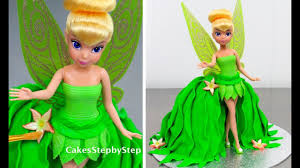 Tinkerbell Fairy Princess Barbie Doll Cake How To Make By Cakes