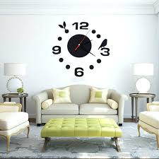 large office wall clocks. Diy Large Wall Clocks Fashion Clock Home Office Room Decor Mirror Extra Y
