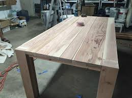 But when chosen with the shape and size of your room in it's more economical: How To Build A Diy Farmhouse Dining Room Table Sawshub