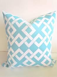 Baby Blue Decorative Pillows