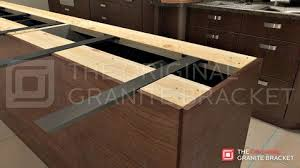 the original granite bracket. Hidden Island Support Bracket The Original Granite For Counter Top Supports And Huge Overhangs On Kitchen Islands