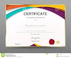 free templates for certificates of appreciation modern certificate appreciation template diploma design vector