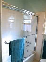 custom designed shower door using delta tool