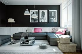 Lighting For Living Rooms Black Living Rooms Ideas Inspiration