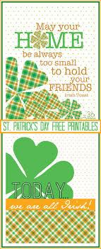 st pattys day home office decor. St. Patrick\u0027s Day Free Printables \u2026 St Pattys Home Office Decor