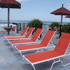 aluminum sling patio furniture. Sling Chaise Lounge Aluminum Patio Furniture
