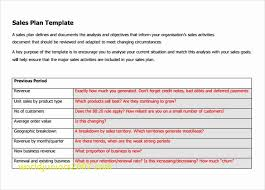 Sample Sales Action Plan Template | Cvfree.pro