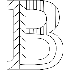 Small Picture B Coloring Page