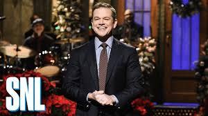 Matt Damon Monologue - SNL - YouTube
