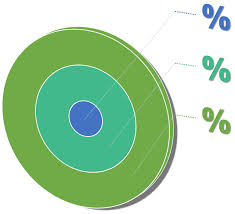 Chart Percentage Diagram Target Goal Free Image From