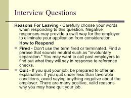 reasons for leaving current job. resume reason for leaving job examples  resume ...