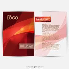 Brochure Template Design Free 30 Free Brochure Vector Design Templates Designmaz