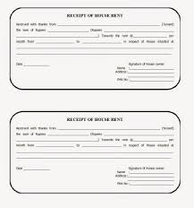 Home Rental Receipt Free Rent Receipt Template For Excel Or Word Documents Vesnak 6
