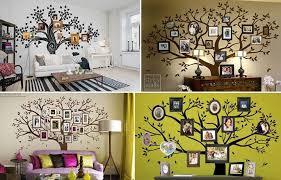 on house wall art image with wonderful diy amazing family tree wall art
