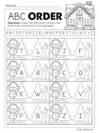 Christmas Themed Worksheets For Kindergarten