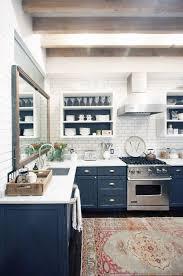 navy matte kitchen