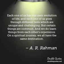 Life Experience Quotes Inspiration Each One Of Us Has Our Own Evolution Of Life And Each One Of Us
