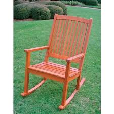 outside rocking chair plans