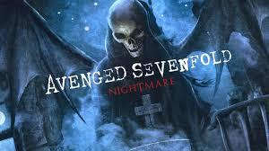 avenged sevenfold logo nightm hd wallpaper background images