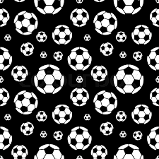 Soccer Ball Pattern Stunning Football Vector Seamless Pattern Black And White Soccer Ball
