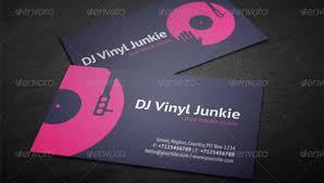 Microsoft Business Cards Templates 28 Dj Business Cards Templates Photoshop Ms Word