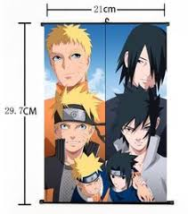 Hot Japan <b>Anime NARUTO</b> Home Decor Cosplay Wall Scroll Poster ...